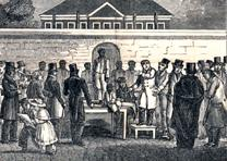 American Anti-Slavery Society (1836) Slave Market of America. (Gilder Lehrman Collection)