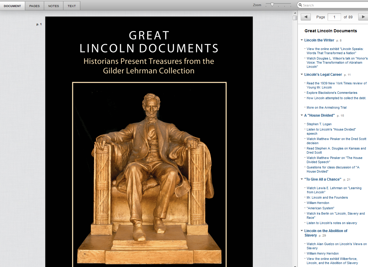 greatlincolndocuments